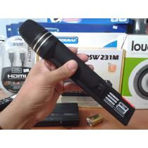 Microfone De Mão Sem Fio Kadosh Kdsw-231m 1 Mic. 1 Ant. Vhf