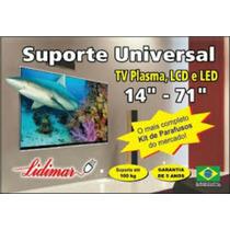 Suporte Para Tv Lcd/led/plasma 14 Á 70 Polegadas Lidimar