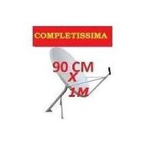 04 Antena Banda Ku 90 X 1.10 Cm Competas L R$ 319.90