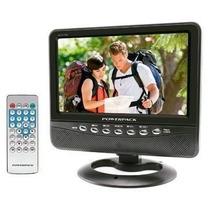 Mini Tv Lcd 7 Polegadas Com Usb, Entrada Av, Cont Remoto