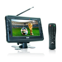Tela Lcd Tv Portatil Bak 7190 Lcd De 7 Polegadas Tft-7190