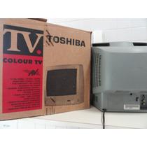 Tv Semp Toshiba Lumina De 14 Polegadas Super Nova