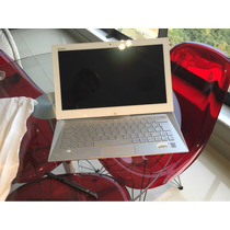 Ultrabook Touch Vaio Duo 13 I7, 4gb, 128gb Branco + Estojo