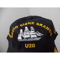 Boné Chapeu Marinha Do Brasil U20 Cisne Branco Para Oficial