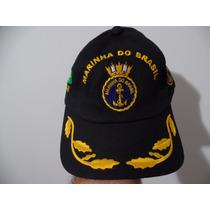 Boné Chapeu Marinha Brasil Fuzileiro Original Para Oficial