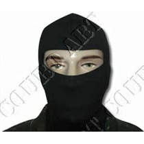 Balaclava Preta Em Cotton Airsoft Paintball Policia Civil
