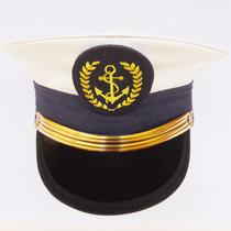 Quepe Oficial Militar Da Marinha Nautica Objetos Antigos