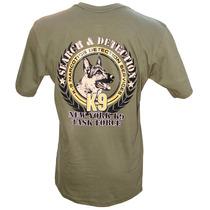 Camiseta K9 Task Force Tam. G