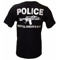 Camiseta Miami Police Tactical Narcotics Team Tam. M