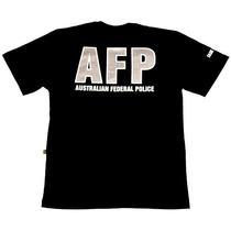 Camiseta Australian Federal Police Tam. G