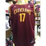 Camisa De Basquete Nba Cleveland Cavaliers Varejao Ou James