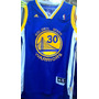 Camisa Do Golden State Warriors Azul Original Curry 30