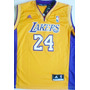 Camisa Regata Basquete Nba Time Los Angeles Lakers 24 Bryant