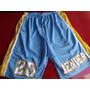 Bermudas De Basquete Nba Denver Nuggets 20 Felton