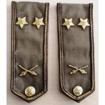 A8924 Platinas/divisas Tchecas Do Exército Em Algodão, Medin