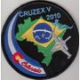 Patch Força Aérea Brasileira X Usaf - Estados Unidos Cruzex