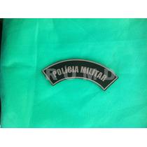 Pmmpm Distintivo Polícia Militar (manicaca, Emborrachado)