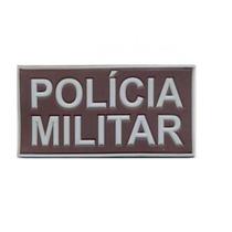 Emborrachado Polícia Militar Costas Padrão