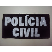 Bordado Polícia Civil