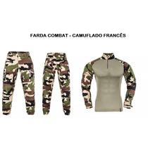 Farda Combat Camuflado Francês( Woodland)