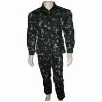 Kit Farda Tática Militar Camuflada Feminino Masculino