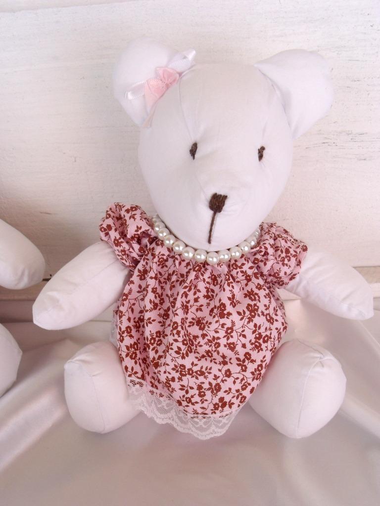 decoracao festa ursa marrom e rosa:ursa g decoraco de festa infantil rosa e marrom provencal 807