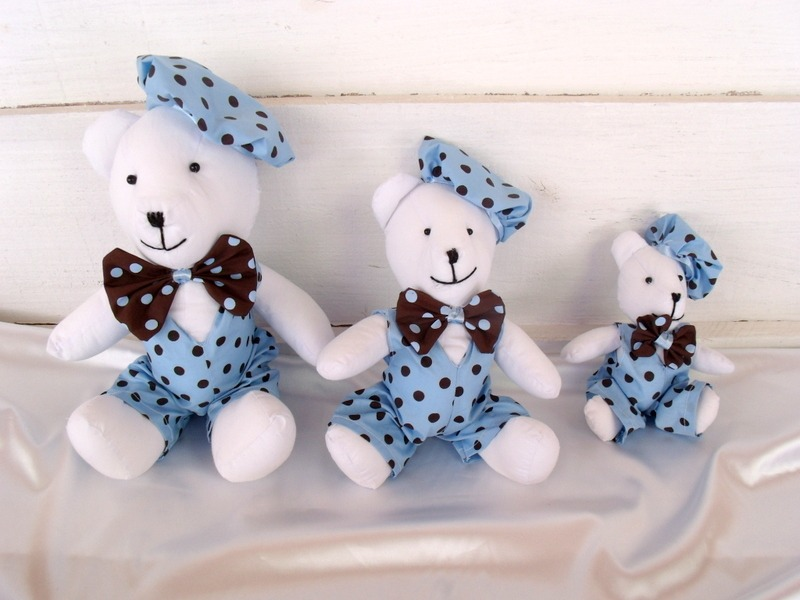 decoracao festa urso azul e marrom:convite ursinho azul e marrom convite azul e marrom