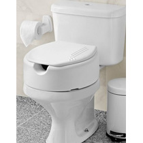 Assento Sanitário Elevado Com Tampa Com 7,5 Cm - Mebuki
