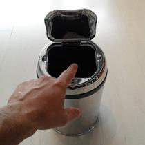 Lixeira Automatica Com Sensor De Abertura Aço Inox 3 Litros