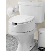 Assento Sanitário Elevado Com Tampa Com 13,5cm - Mebuki