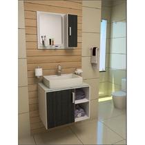 Gabinete / Armário Banheiro Taranto 65