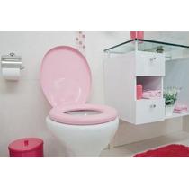 Assento Oval Almofadado Rosa Deca/celite/incepa/icasa