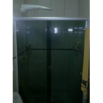 Box Banheiro Vidro Fume Estrutura Fosca Valor Do M²