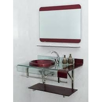 Kit Banheiro Completo Gabinete + Espelheira Est Chopin Astra