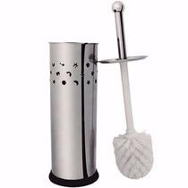 Elegante Escova Pra Vaso Sanitário Com Suporte Em Inox