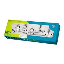 2unid Kit Acessórios Para Banheiro Idea 5pçs - Docol