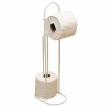 Papeleiro Porta Papel Higiênico De Chão Suporte P/ Banheiro