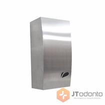 Porta Papel Higiênico Dispenser Cai Cai Inox Escovado Biovis