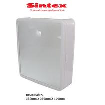Armario P/ Banheiro C/ Esepelho Branco Sintex - Espelheira