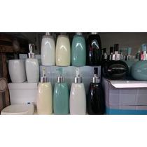 Porta Sabonete Líquido De Porcelana 300 Ml