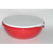 Tupperware Tigela Maravilhosa Saladeira 6,5lt Vermelha Promo