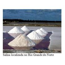 Sal Marinho Moído Natural 3kg - De Mossoro