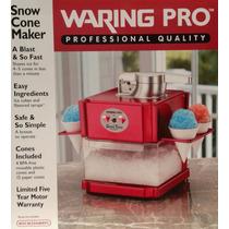 Máquina De Raspadinha Profissional Waring Pro Snow Cone Make