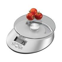 Balança Digital Cozinha Até 5kg Alta Precisão Com Relógio