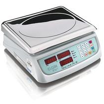 Balança Eletrônica Computadora Elgin Dp15 Plus 15kg Em Inox