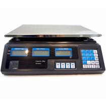 Balança Eletrônica Digital 40kg 2g Alta Precisão Completa