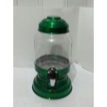 Suqueira/refresqueira Com Dispenser 2litros Verde