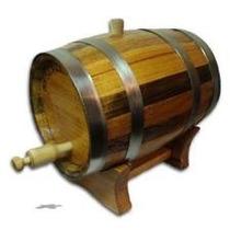 Barril |tonel De Caçhaca|vinho|cerveja| Wisque|carvalho 10 L