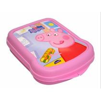 Sanduicheira Lancheira Da Peppa Pig Festa Criança Presente