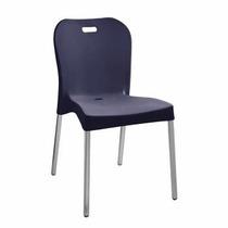 Cadeira Pés De Alumínio Paramount - R$ 99,00